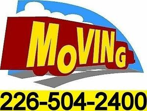 moving? we can help call 226-504-2400
