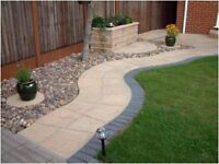 PAVING DRIVEWAYS DECKING FENCING BLOCK PAVING GARDEN SERVICES NEW LAWN WALLS TREE WORK FREE QUOTES.