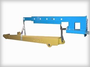 FORKLIFT BOOM CRANE. FORK LIFT JIB BOOMS. IN STOCK & LOW PRICING London Ontario image 6