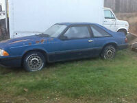 1988 Ford Mustang Hatchback (Not Running)