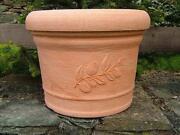 Blumenkübel Terracotta
