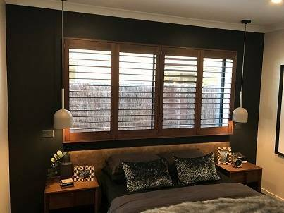 Custom Made Plantation Shutters Stain