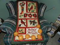 Happy Holidays wall hanging