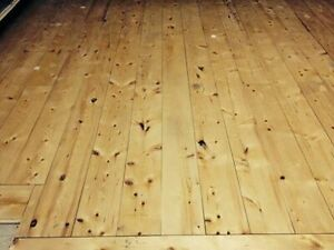 """4"""" Knotty Spruce Floor for Sale"""