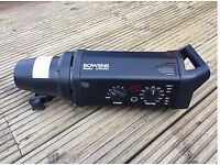 BOWENS Gemini GM500PRO 2 HEADS 3 STANDS 1 UMBRELLA