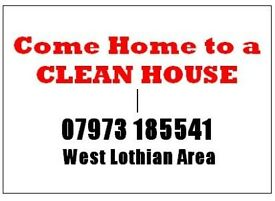 Come Home to a CLEAN HOUSE - West Lothian Area