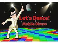 Booked a Party and Need a DJ? Let's Dance Mobile Discos can Help!!