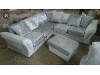 Shannon corner sofa with FREE FOOTSTOOL