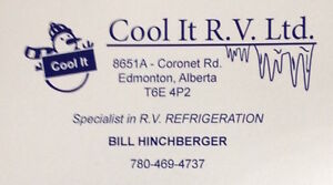 Cool-It  R.V. Ltd. Refrigeration Repair & Recharge Services