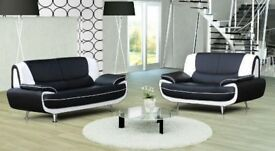 Brand New Leather Olaf 3+2 Or Corner Sofa Now On Offer