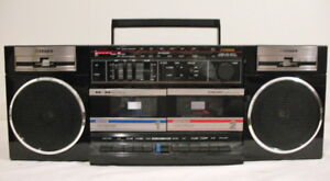 Vintage Fisher PH-W402 Stereo Boombox Cassette Deck