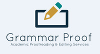 Grammar Proof: proofreading & editing services for students