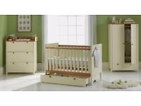 5 piece two tone nursery set