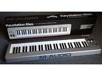 M Audio Key Station 61 midi keyboard