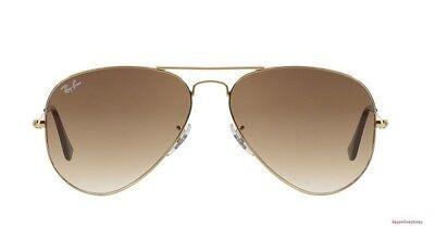 SALE ! Brand New Ray Ban 3025 001/51 Gold Aviator Sunglasses 62 mm (Mens Ray Ban Aviator Sunglasses Sale)