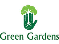 Green Gardens. Landscaping and garden maintenance, Fencing, Decking, Turfing, Patios, Lawn mowing.