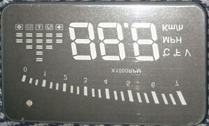 OBDII HUD -Heads up display, needs cable
