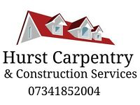 Hurst Carpentry & Construction Services - New projects wanted