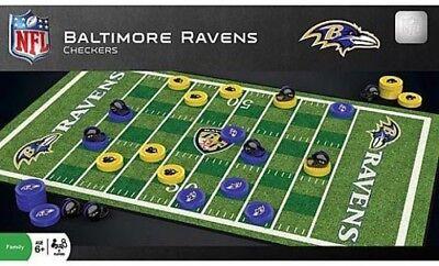 MasterPieces Baltimore Ravens Checkers