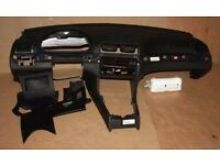 Left hand drive European continental dashboard BMW 3 series E46 2000 - 2006 LHD conversion