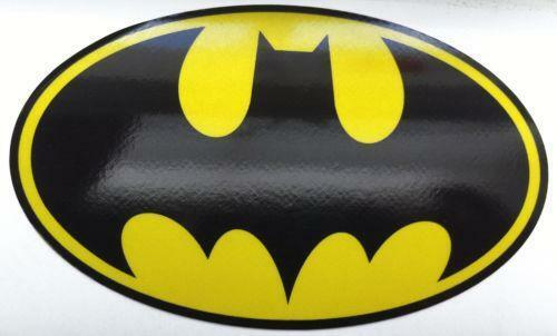 Batman Logo Sticker Ebay