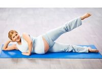 Prenatal Pilates - daytime and evening class available