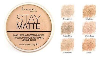 RIMMEL STAY MATTE LONG LASTING PRESSED POWDER - 003 PEACH