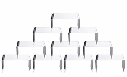 Clear Acrylic Display Risers Showcase for Jewelry, Risers Display for Funko POP
