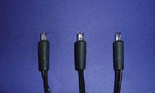 LED Lichterkette HELLUM 563214 m. 20 Brennstellen warmweiß für Innen 5,85m lang
