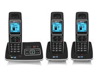 BT 6500 Triple Cordless phones & Answer m/c with Nuisance Call Blocking £25