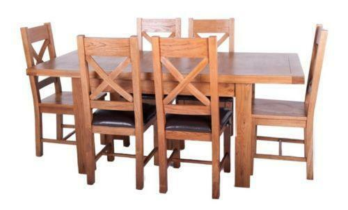 Farmhouse Dining Table And Chairs Ebay