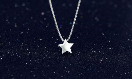 Jewellery - Stunning Star Pendant 925 Sterling Silver Necklace Chain Womens Jewellery Gift