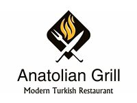 Experience waiting on staff wanted for our Turkish restaurant/Wine bar