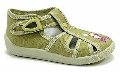 Zapatos Niña Sandalias de Verano Infantil Lona Niño Bebé Talla #14 uk3...
