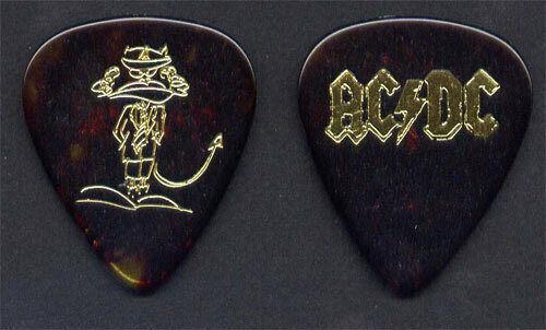AC/DC Angus Young 1995 Ballbreaker Tour Guitar Pick - Very Rare Original