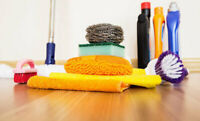 professional Cleaning services($25/hr)