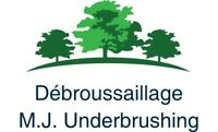 Underbrushing and chipping service