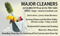 Janitorial services 24 hours a day 7 days  WE HAVE REFERENCES