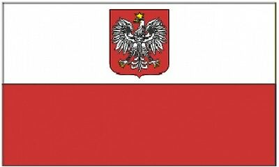 3'x5' POLAND EAGLE NYLON FLAG INDOOR OUTDOOR BANNER PENNANT ANCESTRAL CREST 3X5