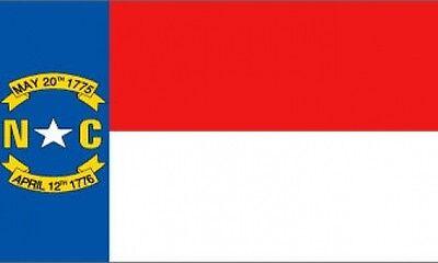 2'x3' North Carolina State Flag USA US Great Seal of Banner Outdoor Indoor 2X3 - North Carolina Outdoor State Flag