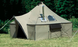 New Wall Tent 12x20 with accessories