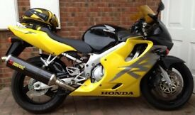 Honda CBR 600F-Y Black/Yellow 10,500 miles