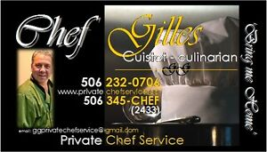 Reserve your date with PrivateChefService.ca
