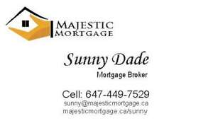 Hard time to get the mortgage call 647-449-7529
