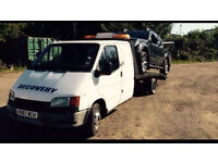 Ford petrol recovery truck with MOT LEZ compliant CREW CAB