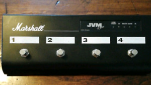 Marshall Pedl-91006 JVM 4 button foot switch Pedl-00045.