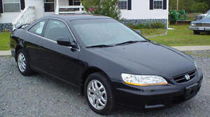 IN SEARCH OF! 2002 Honda Accord Special édition Coupe (2 door)