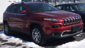 Jeep Cherokee Limited  2017 full package  4000 km, as NEW