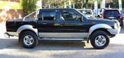 2002 Nissan Navara D22 MY2002 ST-R Black 5 Speed Manual 4D UTILITY Upper Ferntree Gully Knox Area Preview