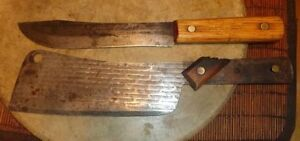Looking for older butcher knives and cleavers